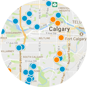 Crescent Heights Real Estate Map Search