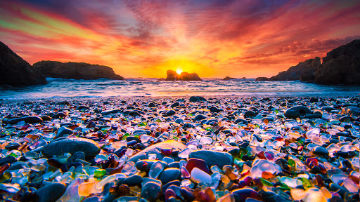 The Glass Beach