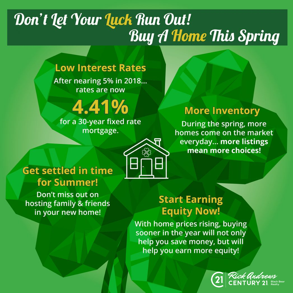 Canton Ellijay Calhoun Chevy: Don't Let Your Luck Run Out! Buy A Home This Spring
