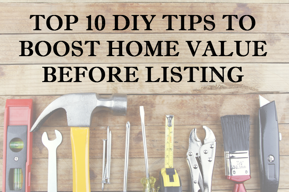 DIY Tips to Boost Home Value