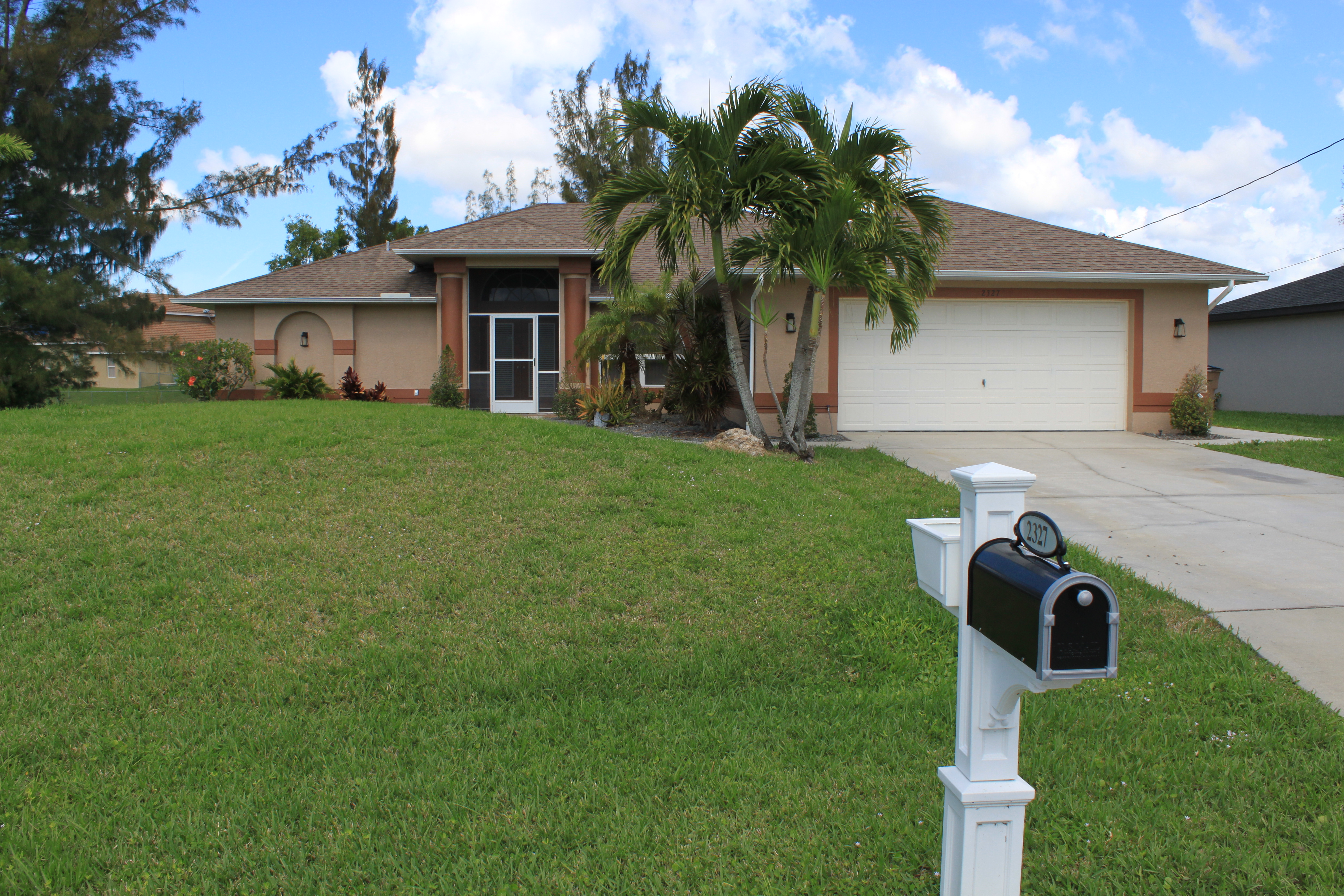 2327 SW 22nd St. Cape Coral, FL 33991 - Front of Home