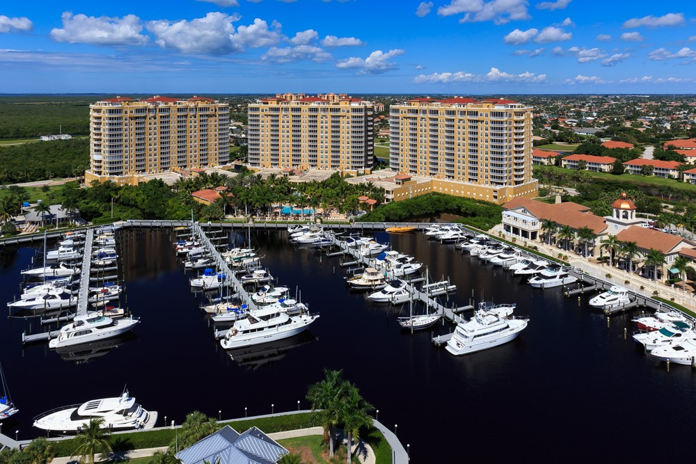 condo and marina, tarpon point