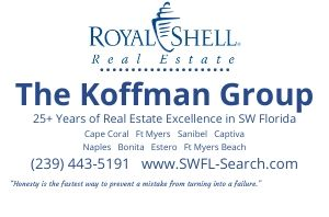Sell your SW Florida home with Royal Shell Real Estate / Koffman & Associates