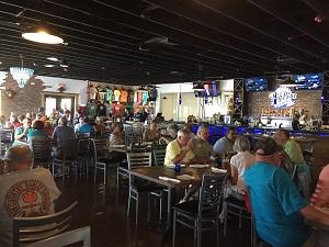 Big Blue dining