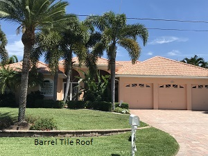 Sample of Barrel Tile Roof