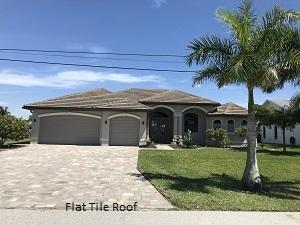 Sample of Flat Tile Roof