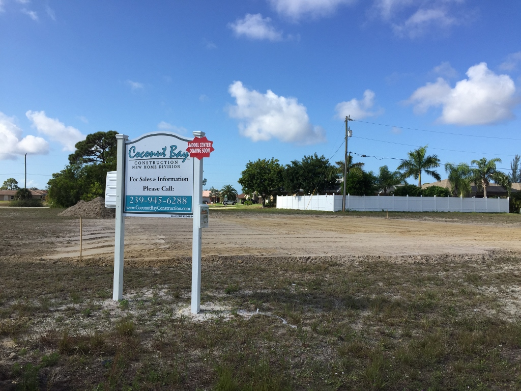 Coconut Bay Stillwater mode site prepped