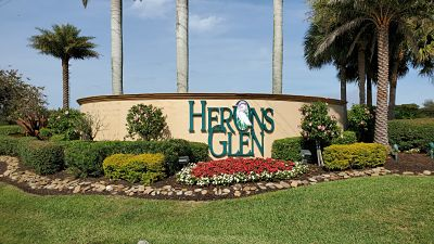 Herons Glen Subdivision in N Ft Myers FL