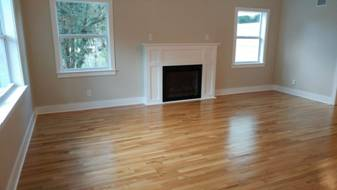 Home Staging - Living Room Before Picture
