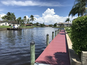 WATERFRONT TOWNHOME FOR SALE CAPE CORAL