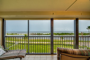 Lanai view 7100 Estero Blvd #505 Fort Myers Beach