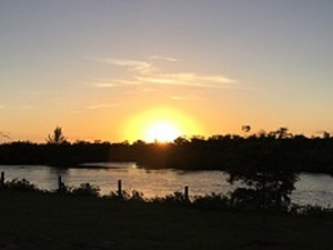 Sunset at Sirenia Vista Park