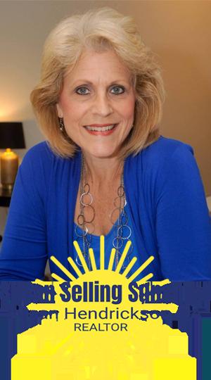 Meet Susan Hendrickson - Susan Selling Sunshine
