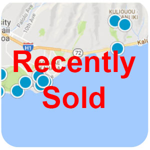 Kahala Recently Sold Homes
