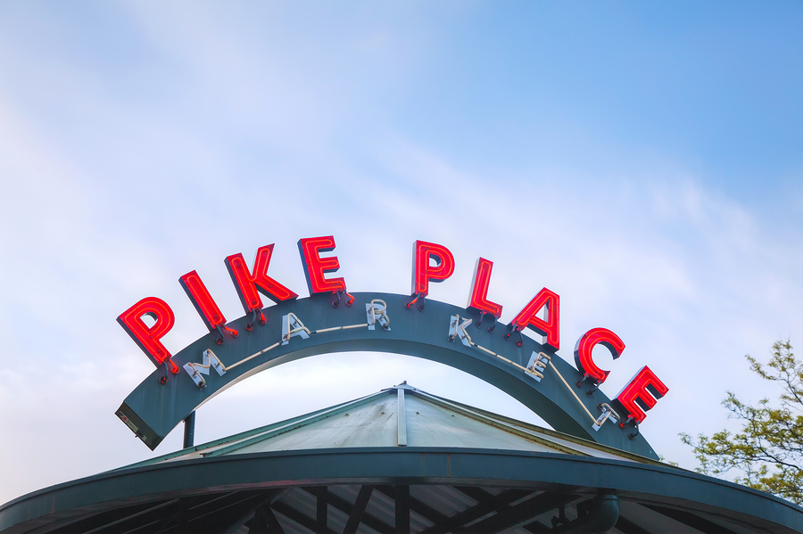 Seattle home owners go to Pike Place Market.