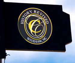Waxhaw city flag
