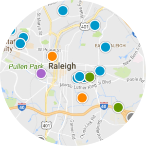 Apex Real Estate Map Search