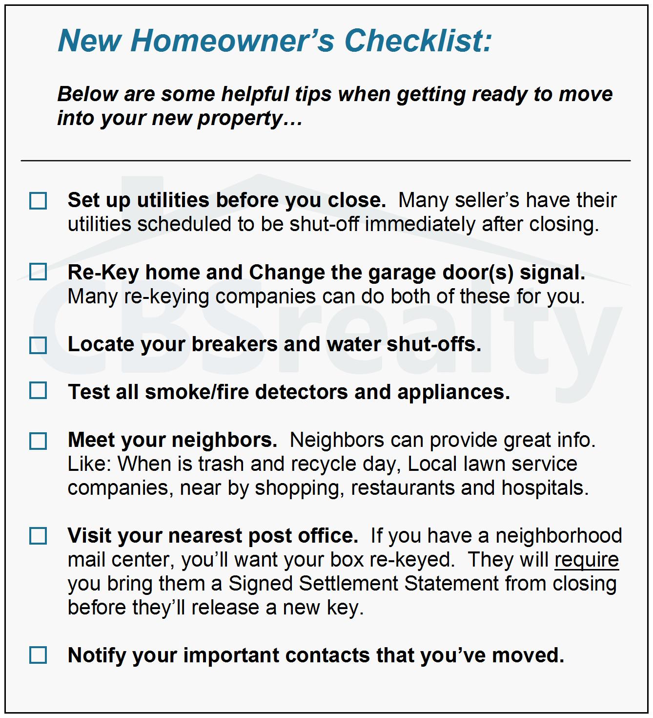 new homeowner checklist pbjstories homeowner fall checklist