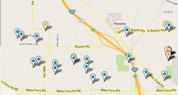 Hiawatha IA Homes for Sale Search Results