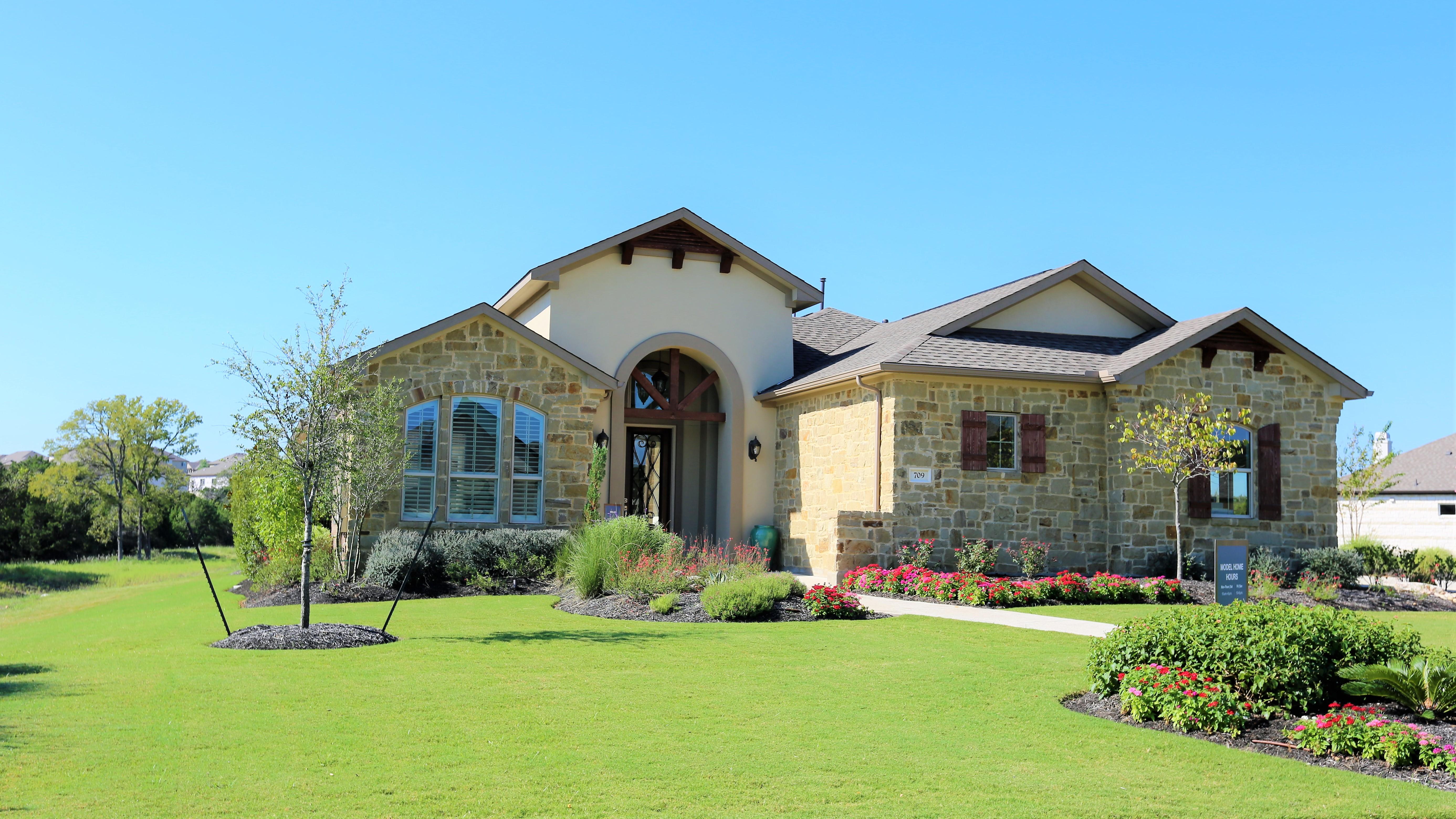 Abrantes Model Home, Cedar Park TX