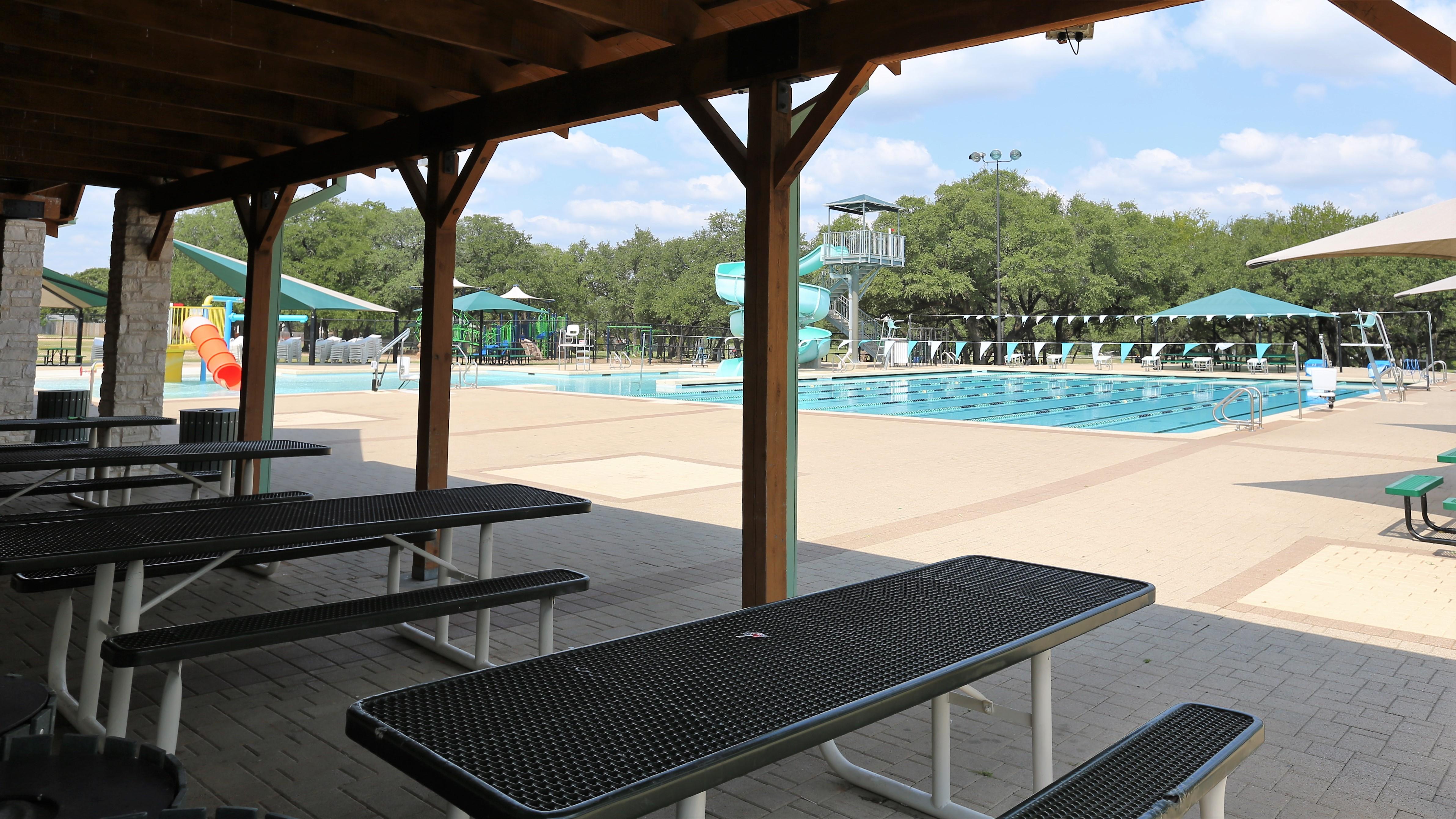 Elizabeth Milburn Park Pool, Cedar Park TX