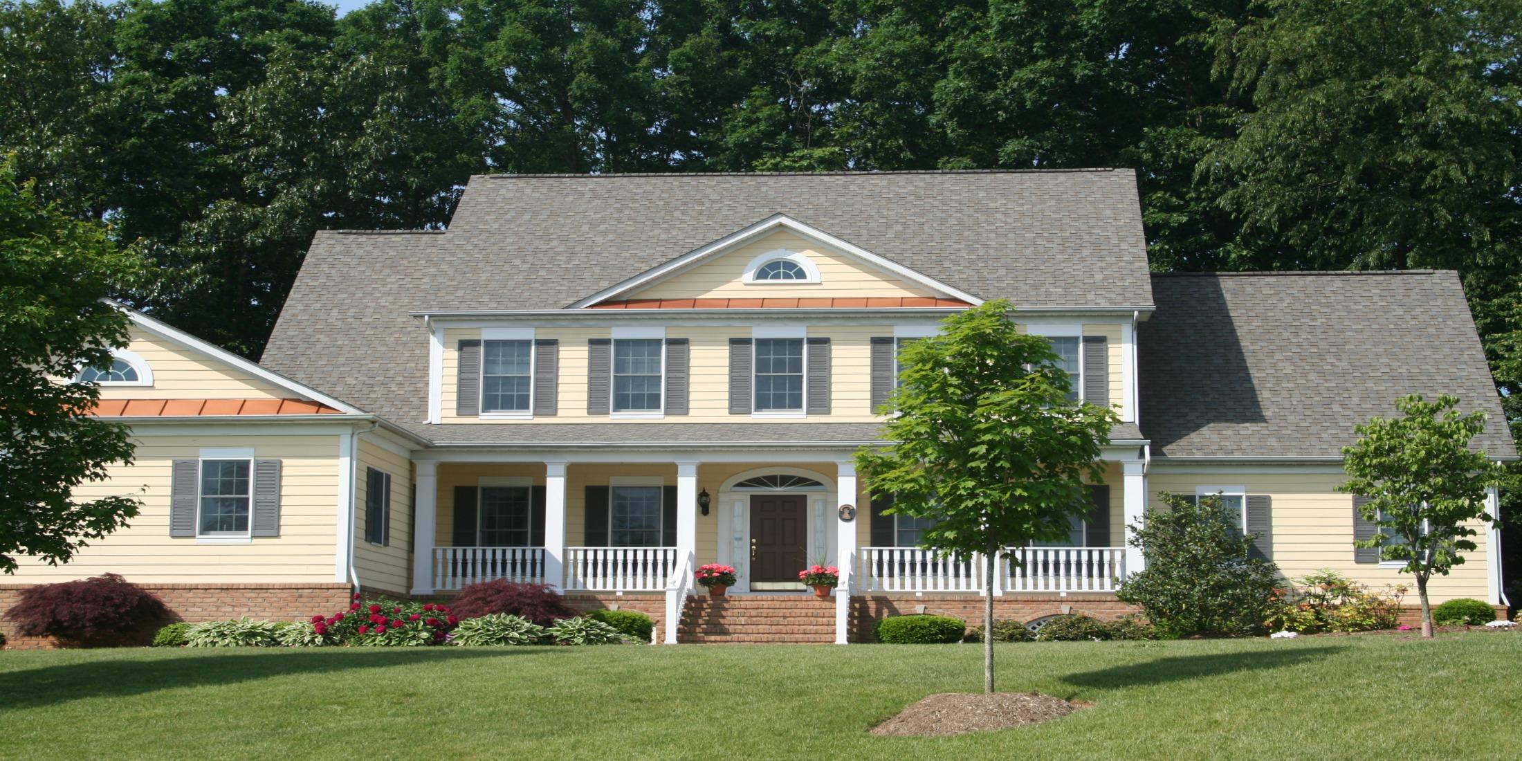 Colonial Home Decor Charming Home Design