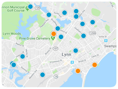 Lynn Real Estate Map Search