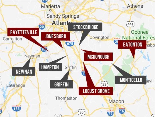 Explore South Metro Atlanta Real Estate