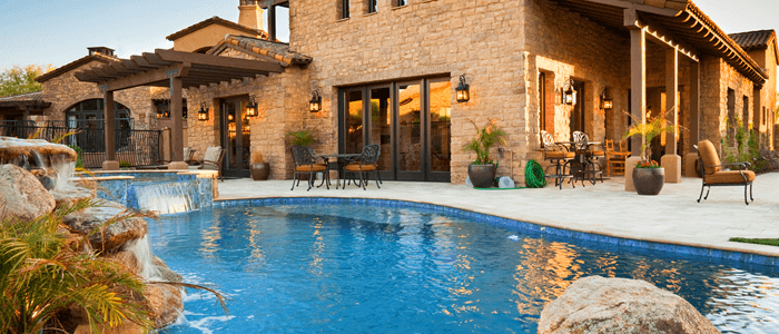 fort worth home with a pool