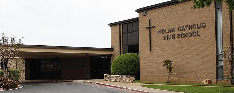 Nolan catholic high school Fort Worth Texas
