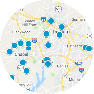 Downtown Durham Real Estate Map Search