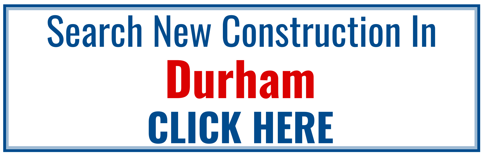 Durham New Construction