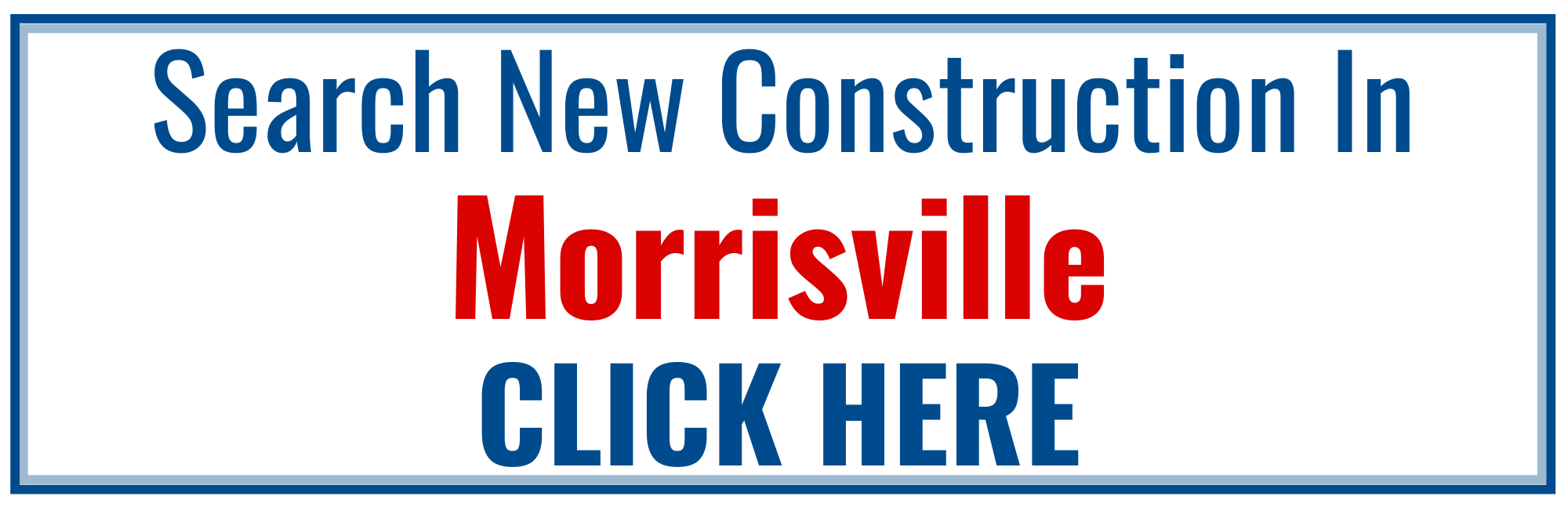 Morrisville New Construction