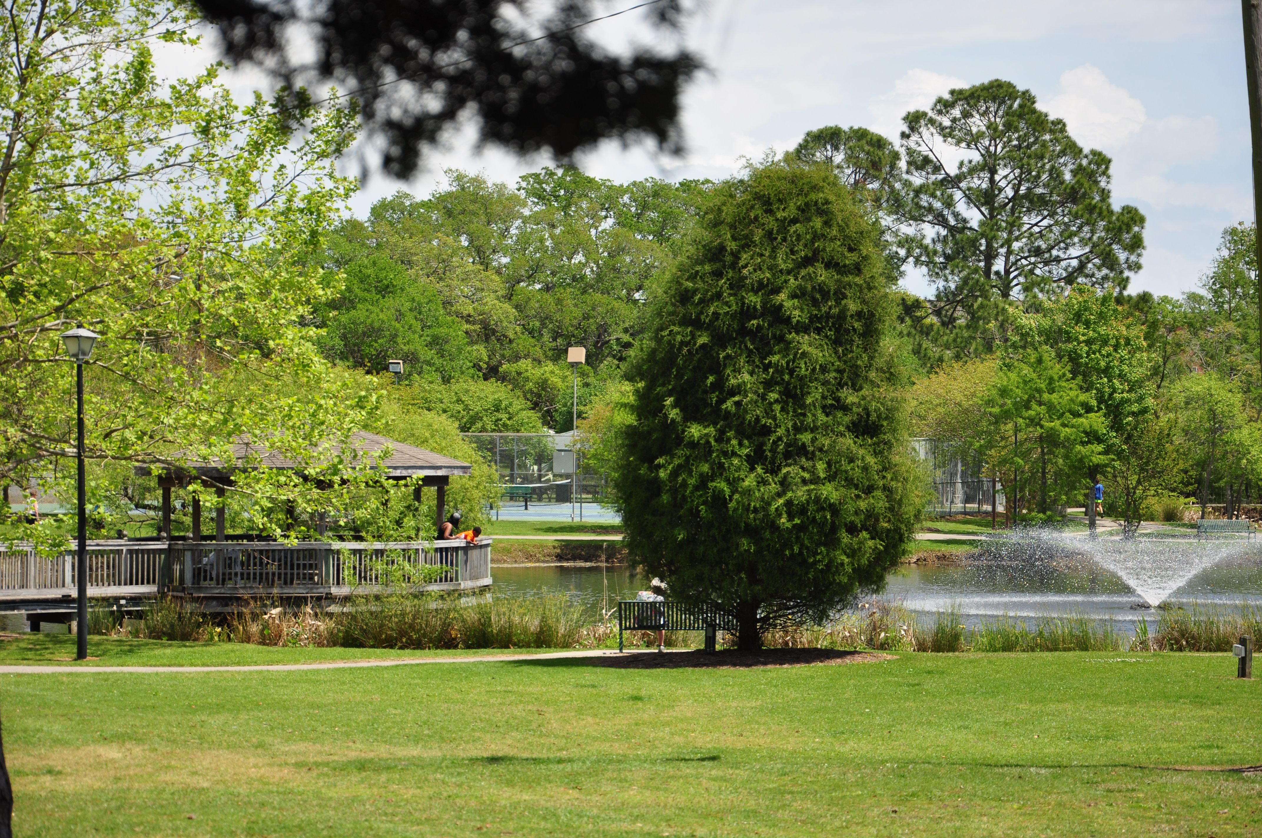 McLean Park fountain