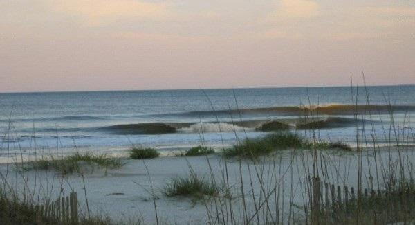 Folly Beach Morning View