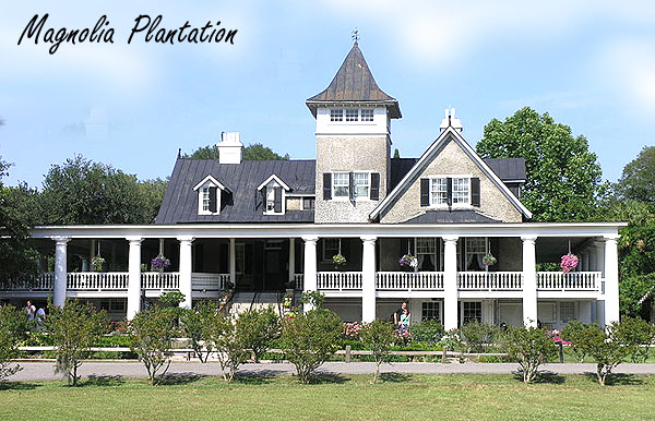 Magnolia Plantation in West Ashley