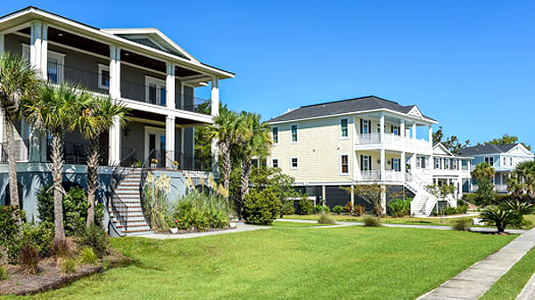Homes at Beresford Creek Landing