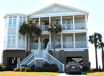 Beach Home on Folly Beach SC