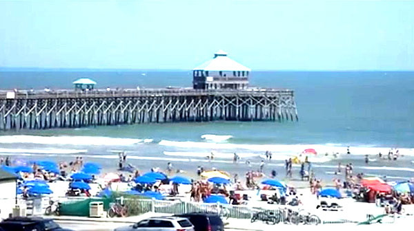 Folly Beach And Pier Sc