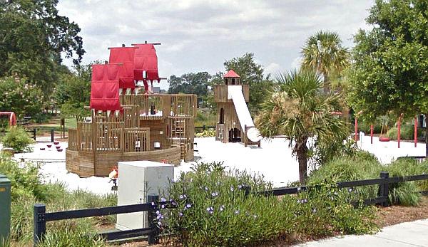 Playground in Smythe Park