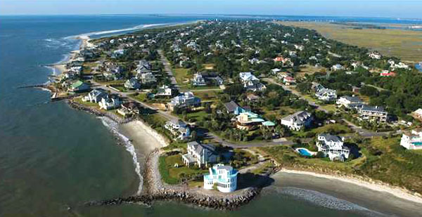 Aerial Photo of Sullivan's Island SC