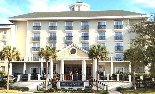 Boardwalk Hotel on the Isle of Palms