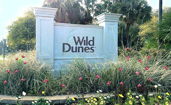 Wild Dunes Sign