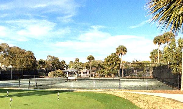 Wild Dunes Tennis Courts