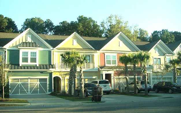 Townhomes in Charleston National Country Club
