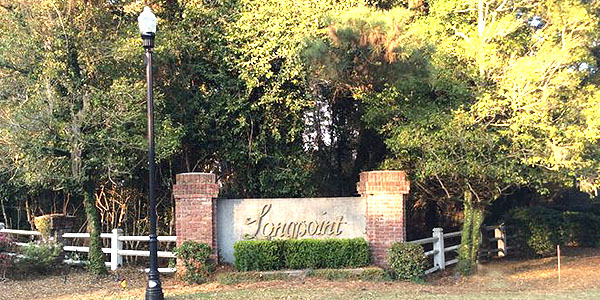 Entrace to Longpoint, Mount Pleasant