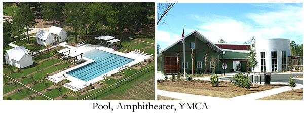 Pool and YMCA at The Ponds of Summerville