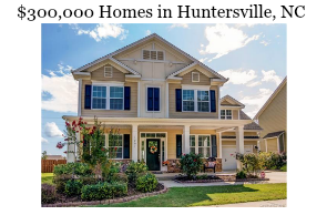 YouTube $300,000 Homes For Sale in Huntersville