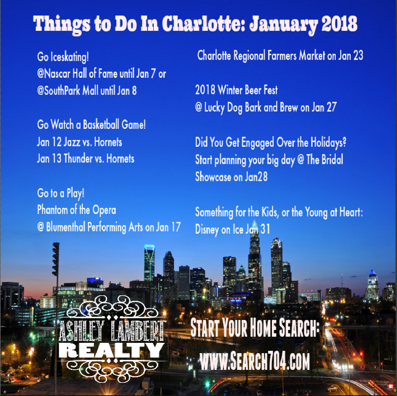 Things to Do in Charlotte January 2018