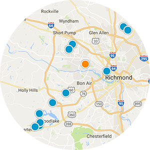 Moseley Real Estate Map Search